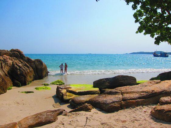 Остров Ко Самет - это одновременно курорт и охраняемый государством национальный заповедник