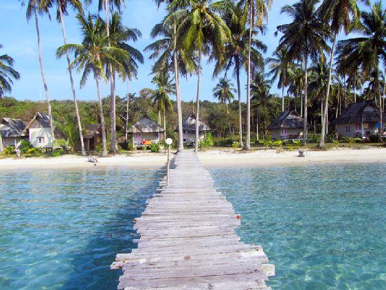 Ко Куд расположен вблизи Камбоджи, стиль отдыха на острове - расслабленный, без лишнего шума и суеты