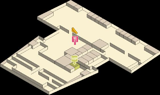 Схема четвёртого этажа аэропорта Краби