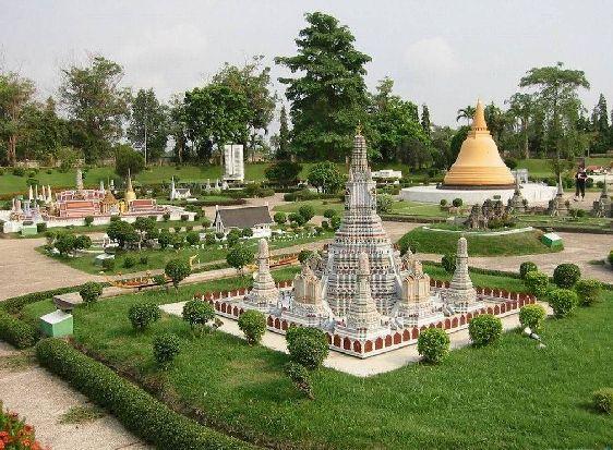 Фрагмент азиатской части парка