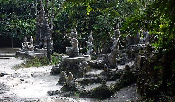 Магический сад Будды находится на высокой горе, поэтому добираться туда самостоятельно не так-то и просто