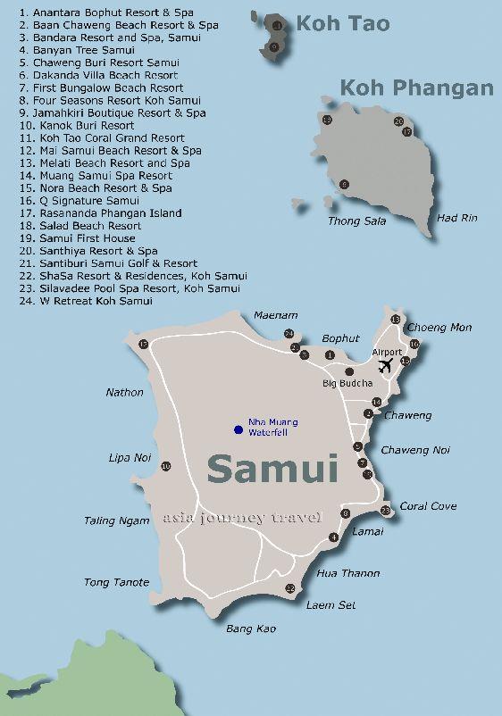 На данной карте вы можете видеть расположение  курортов