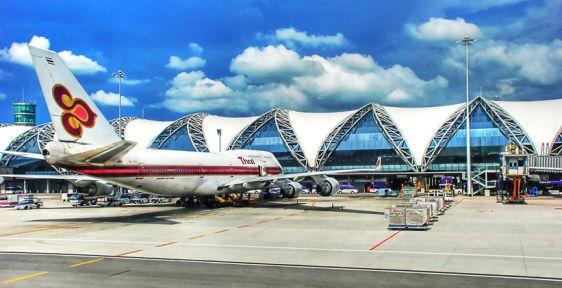 Аэропорт Суварнабхуми - основной международный аэропорт в Бангкоке