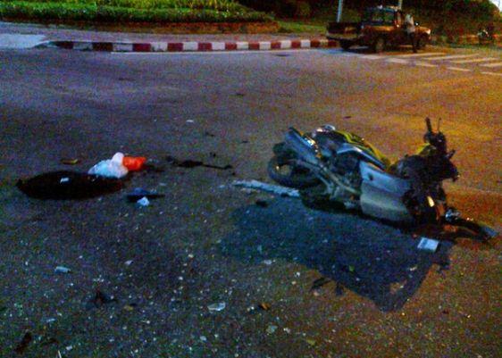 К сожалению, аварии на байках в Таиланде нередки, поэтому стоит подумать дважды, прежде чем брать в аренду мопед в Тайланде