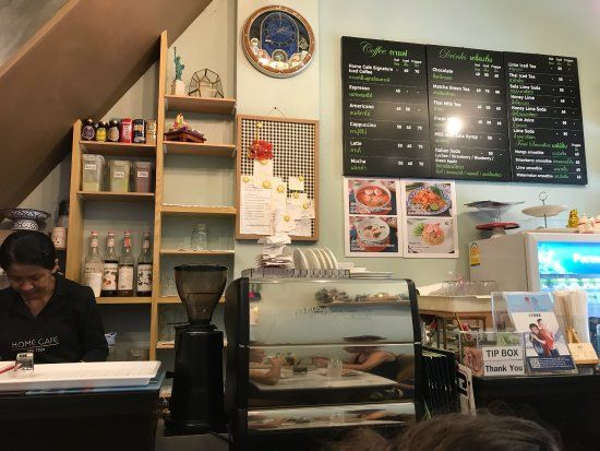 Кафе Home Cafe Tha Tien в Бангкоке