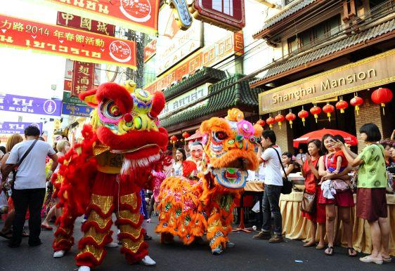 Праздничные мероприятия на Китайский Новый год в Таиланде
