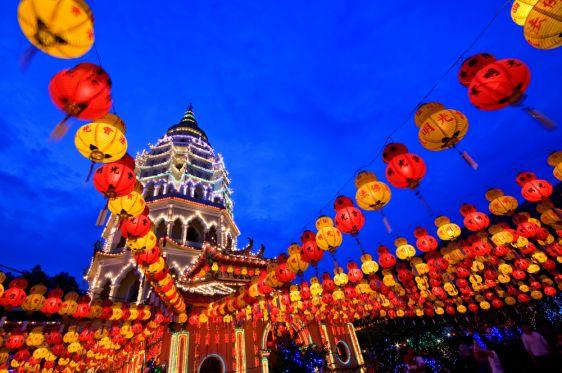 Китайский Новый год отмечается не только в Китае, но и в Таиланде, так как здесь проживает много тайцев китайского происходения