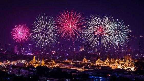 В Бангкоке Новый Год отмечают на все катушку