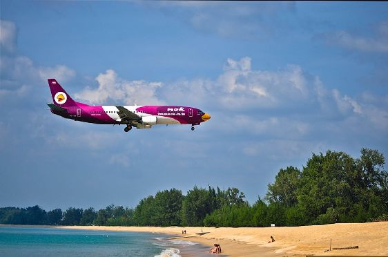 Число авиа рейсов из России на Пхукет и Бангкок будет удвоено