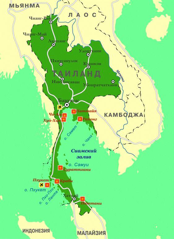 Остров Самет находится в 6.5 километрах от материкового Тайланда (примерно в 80 километрах от Паттайи)