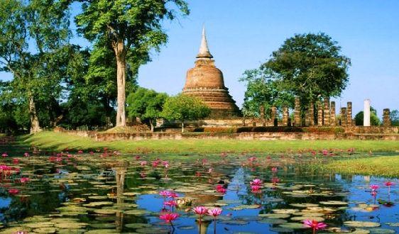 Сукхотай - это бывшая столица древнего таиского государства